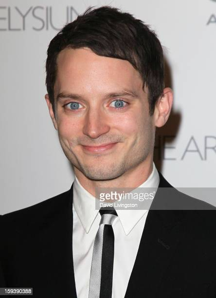 "Actor Elijah Wood attends the Art of Elysium's 6th Annual Black-tie Gala ""Heaven"" at 2nd Street Tunnel on January 12, 2013 in Los Angeles, California."