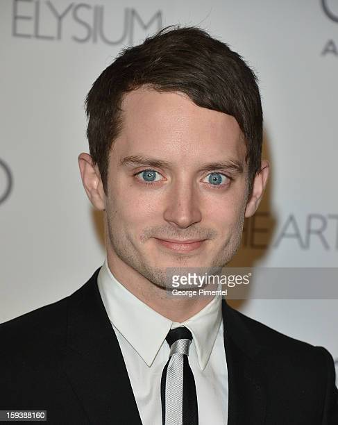 Actor Elijah Wood attends The Art of Elysium's 6th Annual HEAVEN Gala presented by Audi at 2nd Street Tunnel on January 12, 2013 in Los Angeles,...