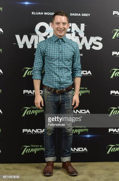 Actor Elijah Wood attends the 'Open Windows' photocall at User on June 30 2014 in Madrid Spain