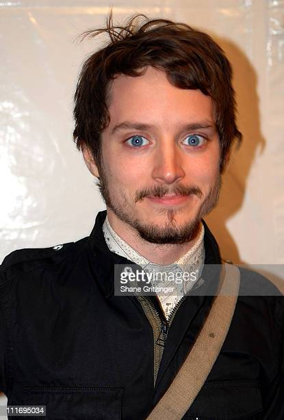 Actor Elijah Wood attends the Premiere of 'Be Kind Rewind' on February 19 2008 in New York City