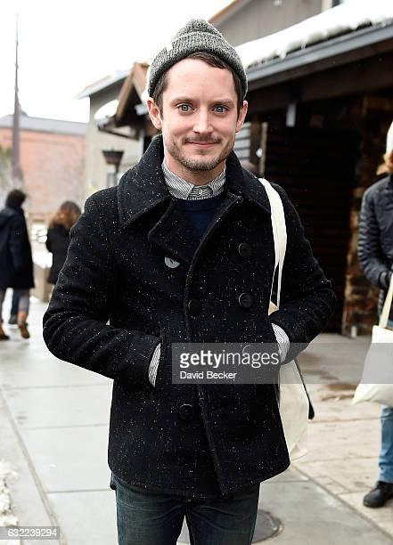 Actor Elijah Wood attends the Sundance Film Festival on January 20 2017 in Park City Utah