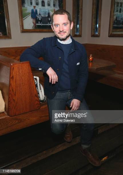 Actor Elijah Wood attends Tribeca Film Festival AfterParty for Come To Daddy at Common Ground on April 25 2019 in New York City