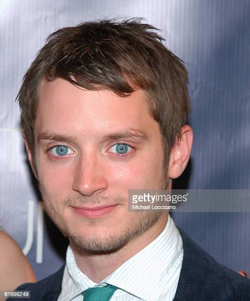 """Actor Elijah Wood co-hosts """"Rebel Rebel"""" a Milk Gallery Project presented by The Art of Elysium on June 24, 2008 at the Milk gallery in New York."""