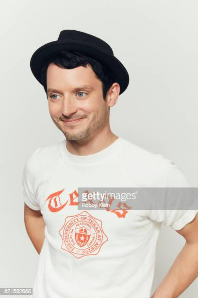 Actor Elijah Wood from BBC America's 'Dirk Gently's Holistic Detective Agency' poses for a portrait during Comic-Con 2017 at Hard Rock Hotel San...