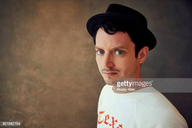 Actor Elijah Wood from BBC America's 'Dirk Gently's Holistic Detective Agency' poses for a portrait during ComicCon 2017 at Hard Rock Hotel San Diego...