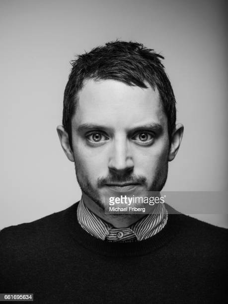 Actor Elijah Wood from the film 'I Don't Feel at Home in This World Anymore' poses for a portrait at the Sundance Film Festival for Variety on...