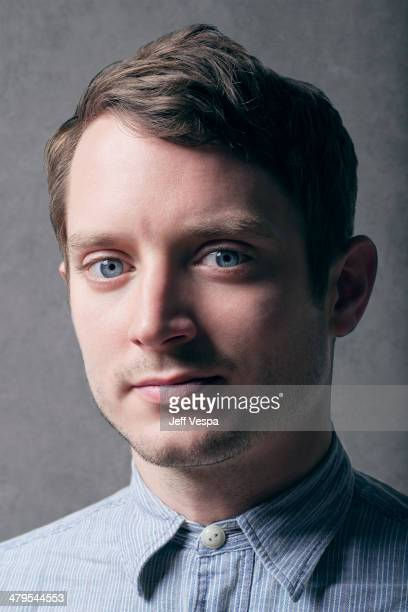 Actor Elijah Wood is photographed at the Sundance Film Festival 2014 for Self Assignment on January 25 2014 in Park City Utah