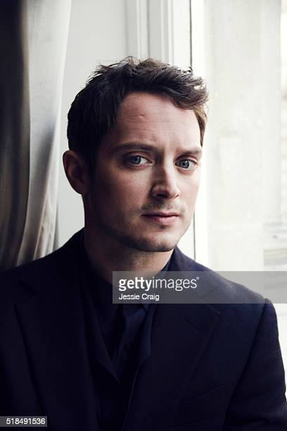 Actor Elijah Wood is photographed for ES magazine on October 28 2014 in London England