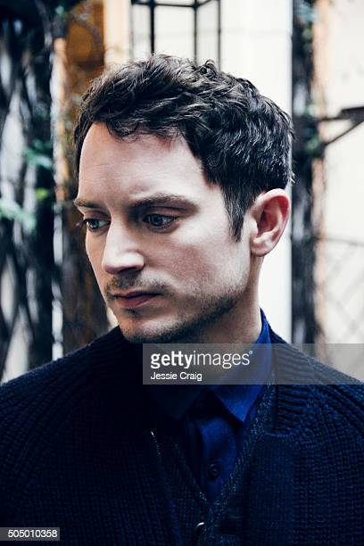 Actor Elijah Wood is photographed for ES magazine on October 28 2015 in London England