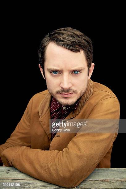 Actor Elijah Wood is photographed for The Wrap on March 13 2016 in Austin Texas