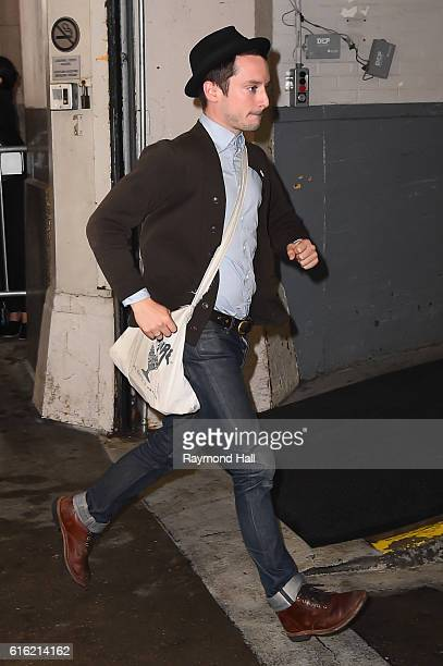 Actor Elijah Wood is seen in Soho on October 21 2016 in New York City