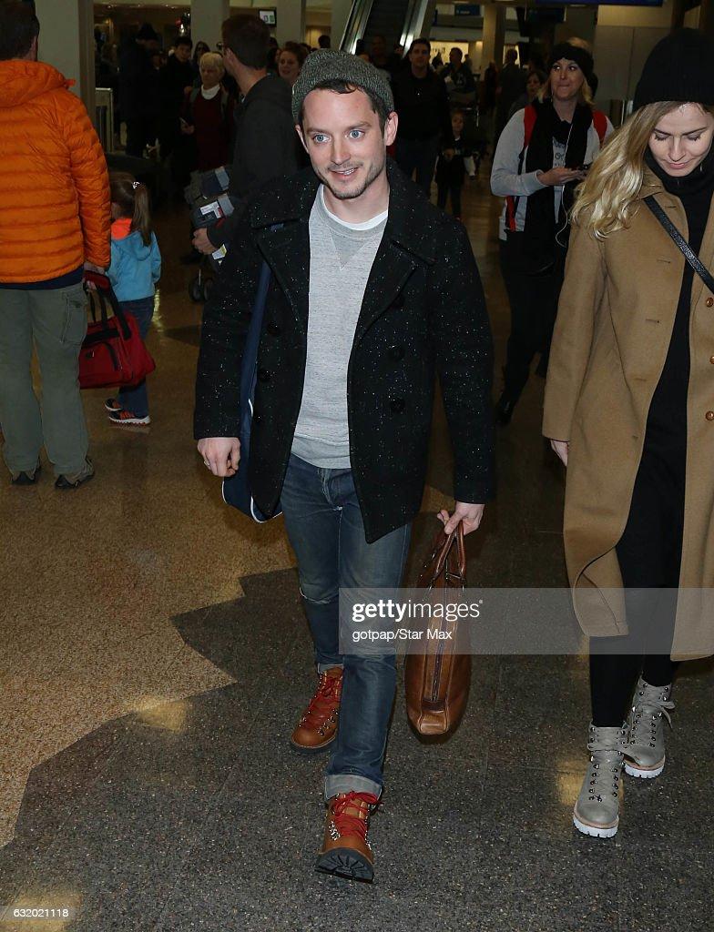 Celebrity Sightings In Park City - January 18, 2017
