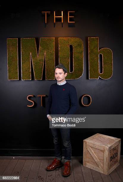Actor Elijah Wood of I Don't Feel At Home In This World Anymore attends The IMDb Studio featuring the Filmmaker Discovery Lounge presented by Amazon...