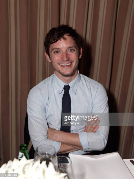 Actor Elijiah attends The Art of Elysium HEAVEN Gala Committee Dinner hosted by Gilt Groupe at Sunset Tower on September 23, 2009 in West Hollywood,...