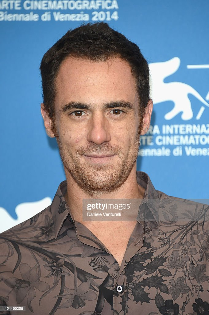 Actor Elio Germano attends 'Il Giovane Favoloso' Photocall during the 71st Venice Film Festival at Palazzo Del Casino on September 1, 2014 in Venice, Italy.