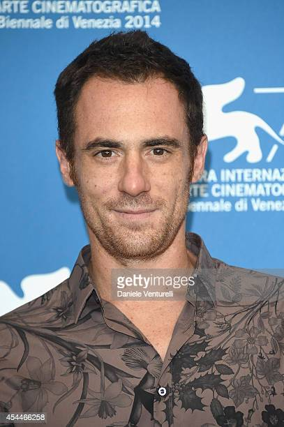 Actor Elio Germano attends 'Il Giovane Favoloso' Photocall during the 71st Venice Film Festival at Palazzo Del Casino on September 1 2014 in Venice...