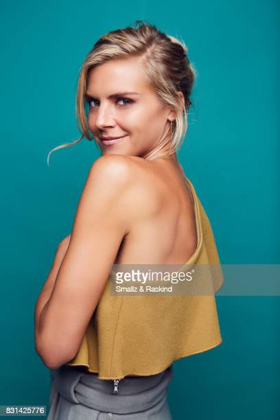 Actor Eliza Coupe of Hulu's 'Future Man' poses for a portrait during the 2017 Summer Television Critics Association Press Tour at The Beverly Hilton...