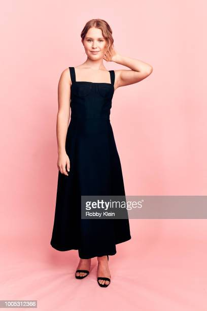 Actor Eliza Scanlen of HBO's 'Sharp Objects' poses for a portrait during the 2018 Summer Television Critics Association Press Tour at The Beverly...