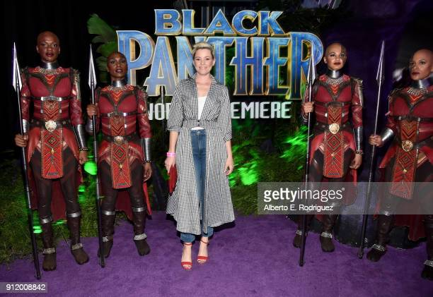 Actor Elizabeth Banks at the Los Angeles World Premiere of Marvel Studios' BLACK PANTHER at Dolby Theatre on January 29 2018 in Hollywood California