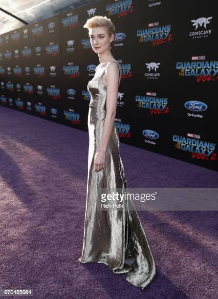 "Actor Elizabeth Debicki at The World Premiere of Marvel Studios' ""Guardians of the Galaxy Vol 2"" at Dolby Theatre in Hollywood CA April 19th 2017"