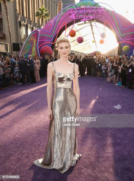 """Actor Elizabeth Debicki at The World Premiere of Marvel Studios' """"Guardians of the Galaxy Vol 2"""" at Dolby Theatre in Hollywood CA April 19th 2017"""