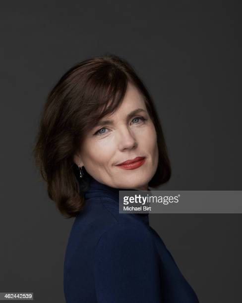 Actor Elizabeth McGovern is photographed for the Reader's Digest on July 22 2013 in London England