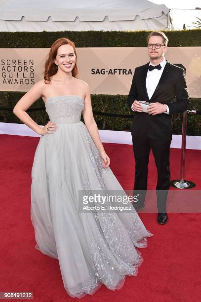 Actor Elizabeth McLaughlin attends the 24th Annual Screen Actors Guild Awards at The Shrine Auditorium on January 21 2018 in Los Angeles California...