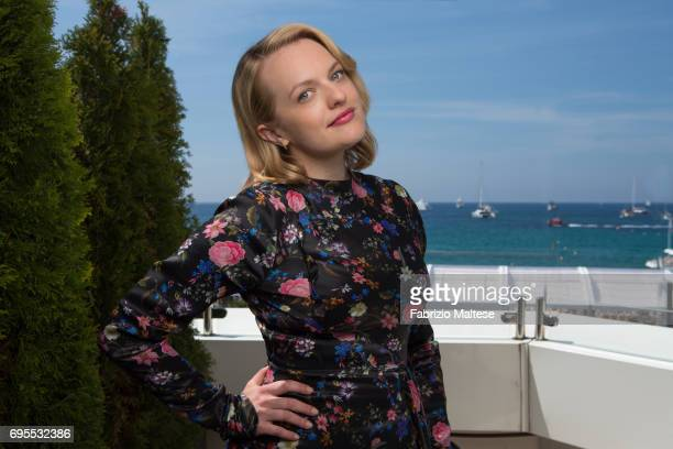 Actor Elizabeth Moss is photographed for the Hollywood Reporter on May 24 2017 in Cannes France