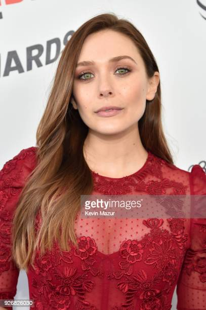 Actor Elizabeth Olsen attends the 2018 Film Independent Spirit Awards on March 3 2018 in Santa Monica California