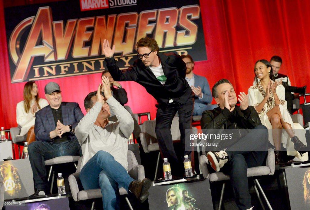 """Avengers: Infinity War"" Global Press Conference : News Photo"
