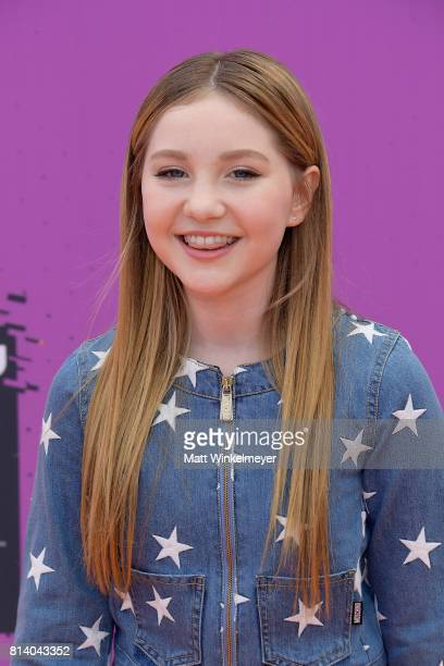 Actor Ella Anderson attends Nickelodeon Kids' Choice Sports Awards 2017 at Pauley Pavilion on July 13 2017 in Los Angeles California