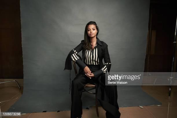 Actor Ella Balinska is photographed on August 20, 2019 in London, Engalnd.