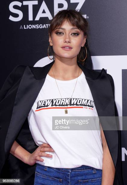 Actor Ella Purnell attends Starz 'Vida' premiere at Regal LA Live Stadium 14 on May 1 2018 in Los Angeles California