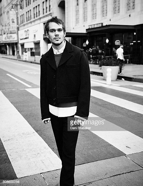 Actor Ellar Coltrane is photographed for Numero Hommes Germany on August 17 2015 in Los Angeles California