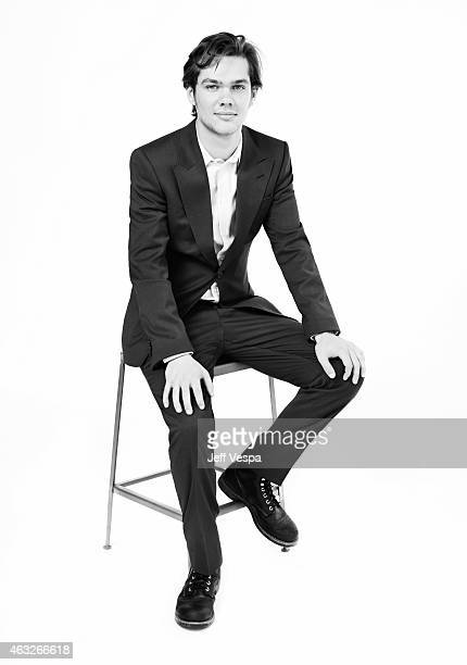 Actor Ellar Coltrane poses for a portraits at the 87th Academy Awards Nominee Luncheon at the Beverly Hilton Hotel on February 2 2015 in Beverly...