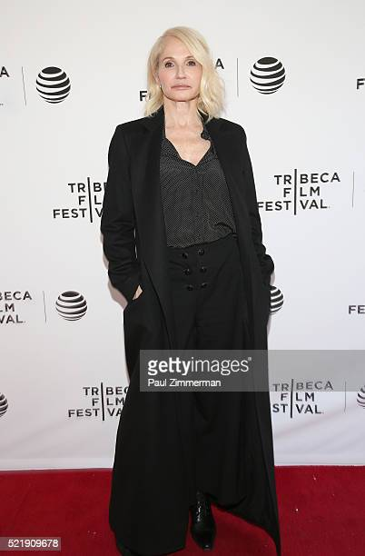 Actor Ellen Barkin at Series Premiere of TNT's New Original Drama Animal Kingdom during Tribeca Film Festval at SVA Theatre 1 on April 17 2016 in New...