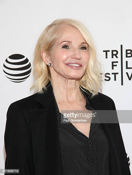 "Actor Ellen Barkin at Series Premiere of TNT's New Original Drama, ""Animal Kingdom"" during Tribeca Film Festval at SVA Theatre 1 on April 17, 2016 in..."