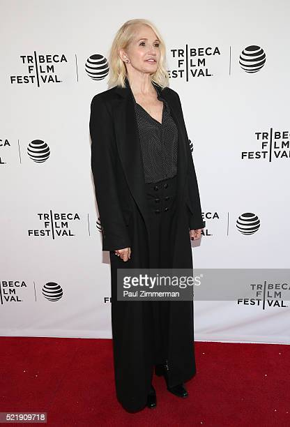 "Actor Ellen Barkin at Series Premiere of TNT's New Original Drama, ""Animal Kingdom"" during Tribeca Film Festval at SVA Theatre 1 on April 17, 2016 in..."