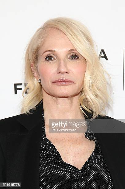 Actor Ellen Barkin attends the Series Premiere of TNT's New Original Drama Animal Kingdom during Tribeca Film Festval at SVA Theatre 1 on April 17...