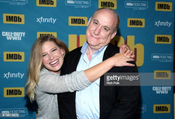 Actor Ellen Woglom and writer Jeph Loeb at the #IMDboat At San Diego Comic-Con 2017 on the IMDb Yacht on July 20, 2017 in San Diego, California.