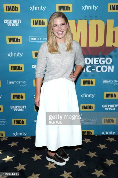 Actor Ellen Woglom at the #IMDboat At San Diego ComicCon 2017 on the IMDb Yacht on July 20 2017 in San Diego California