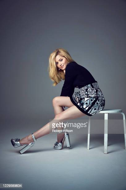 Actor Ellie Bamber is photographed for the Times magazine on May 7, 2019 in London, England.