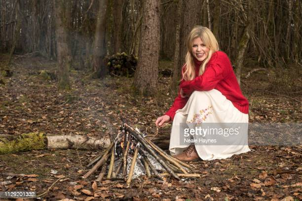 Actor Ellie Harrison is photographed for Daily Mail on February 21, 2018 in near Cirencester, England.