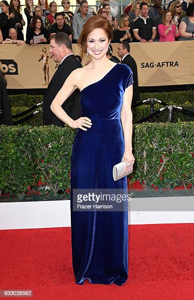 Actor Ellie Kemper attends The 23rd Annual Screen Actors Guild Awards at The Shrine Auditorium on January 29 2017 in Los Angeles California 26592_008