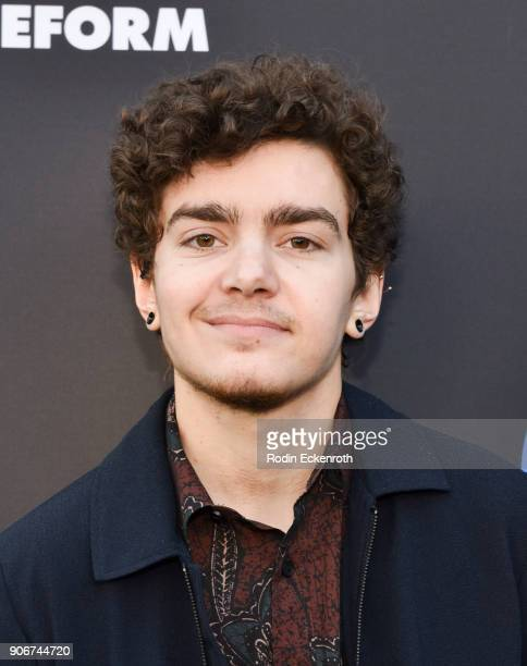 Actor Elliot Fletcher of The Fosters arrives at Freeform Summit on January 18 2018 in Hollywood California