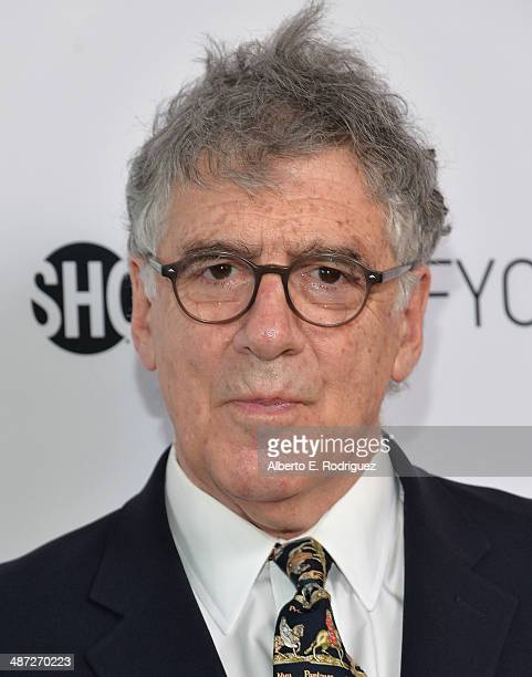 Actor Elliot Gould arrives to an exclusive conversation with the cast of Showtime's Ray Donovan at Leonard H Goldenson Theatre on April 28 2014 in...