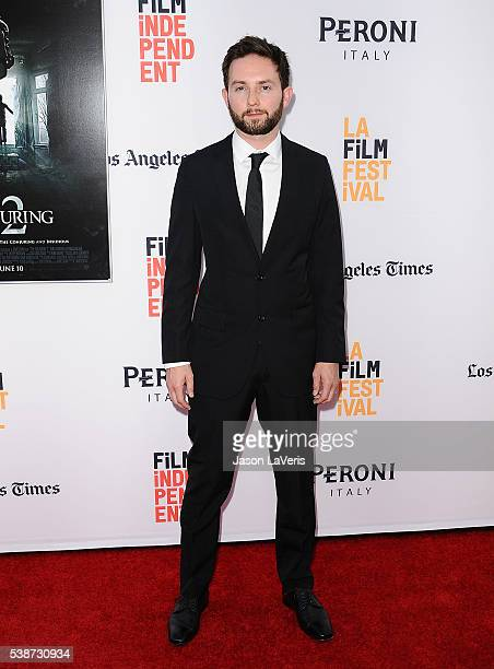 Actor Elliot Joseph attends the premiere of The Conjuring 2 at the 2016 Los Angeles Film Festival at TCL Chinese Theatre IMAX on June 7 2016 in...