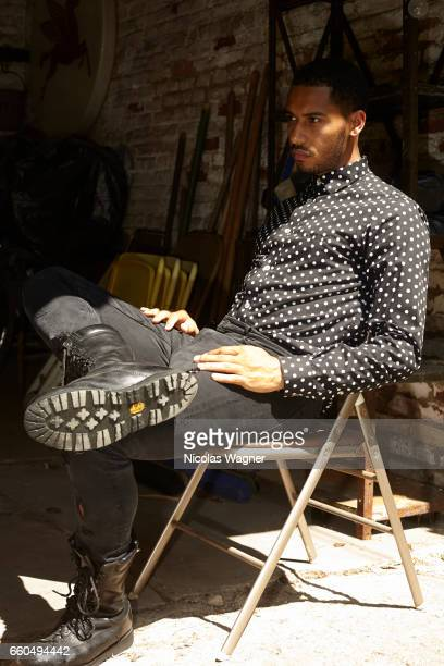 Actor Elliot Knight is photographed for Self Assignment on June 6, 2017 in Paris, France.