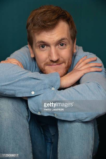 Actor Elliott Crosset Hove poses for a portrait during the 69th Berlinale International Film Festival on February 9 2019 in Berlin Germany