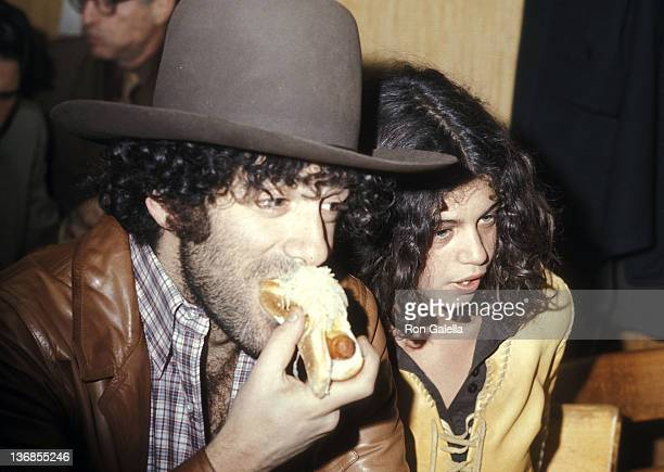 Actor Elliott Gould and girlfriend Jennifer Bogart attend the Bella Abzug's Belated Victory Party for the US House of Representative on February 1...